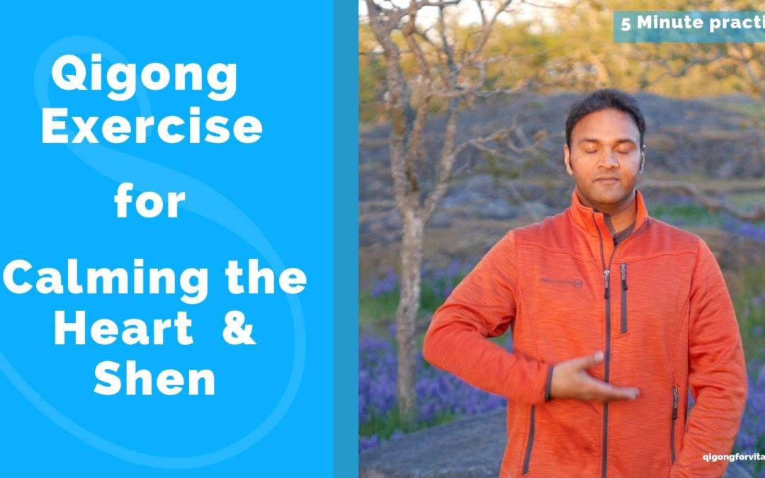Simple 5 Minute Heart Calming Qigong Practice