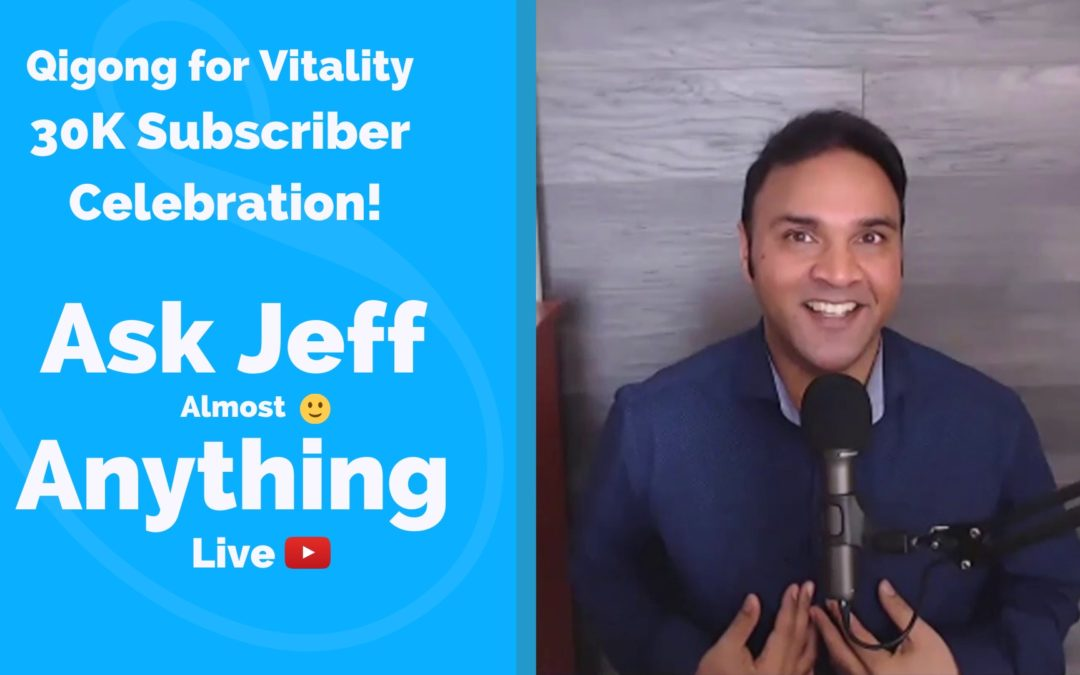 Ask Jeff Anything – Youtube Live Celebration