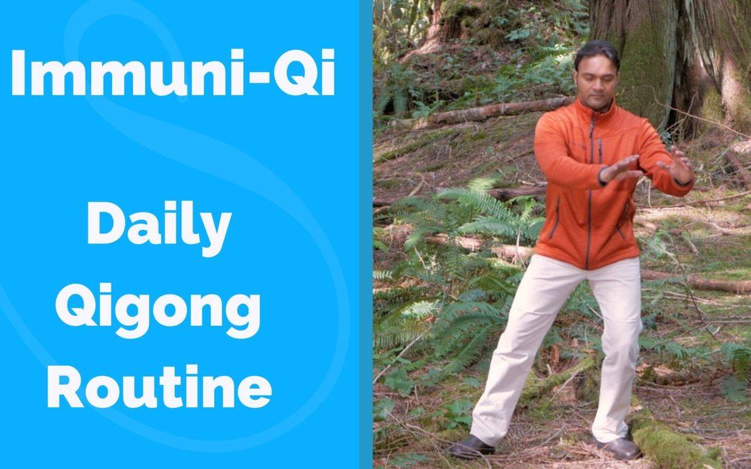 Qigong Routine for Immune System – Immuni Qi