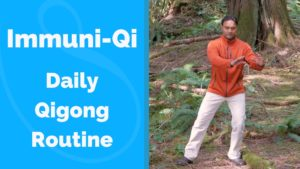 Qigong routine for healthy immune system