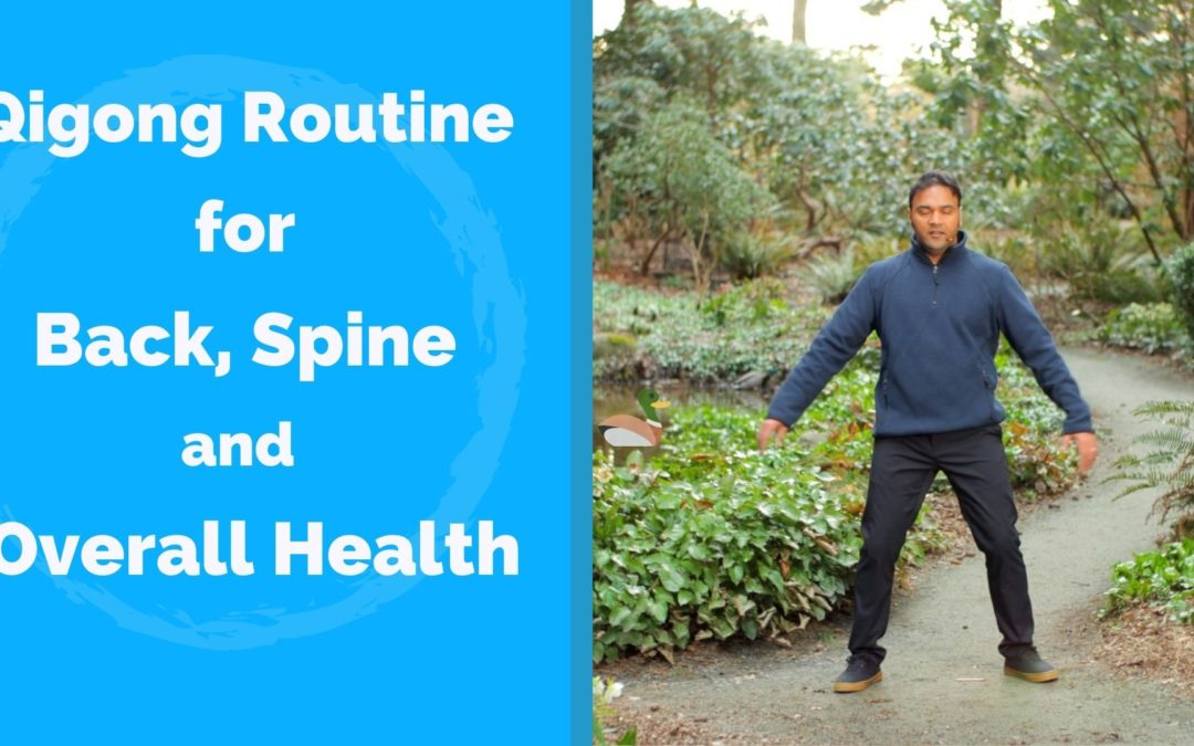 Qigong for Back Pain, Healthy Spine – Spinal Twisting